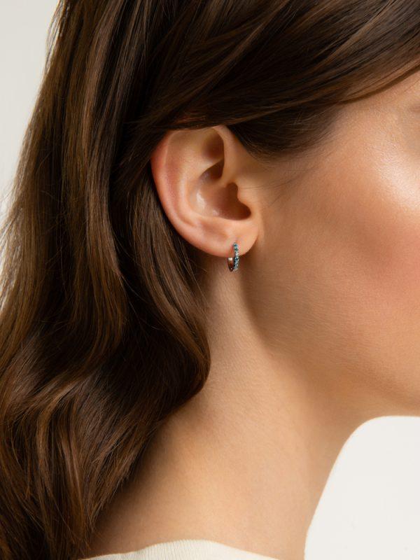 nastro t+amo earrings blue sky